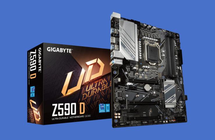 Скачать сборку хакинтош для GIGABYTE Z590 D / Download hackintosh for GIGABYTE Z590 D